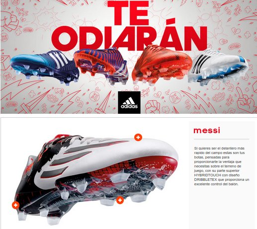 Futbol Factory botas de fútbol
