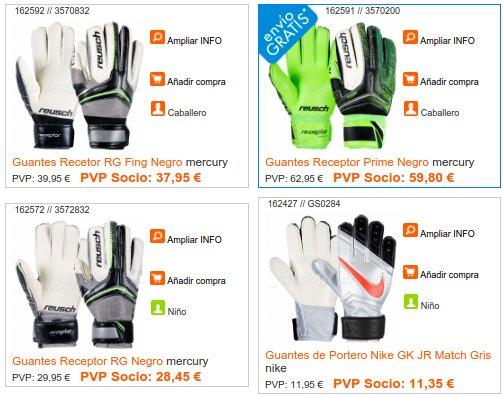 Futbol Factory guantes de fútbol