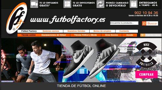 Futbol Factory opiniones