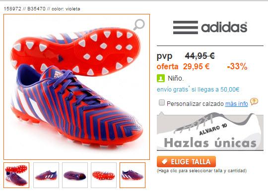 botas de futbol adidas para niños