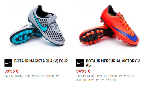 9471d492538 Botas de fútbol para niños 2019 baratas: opiniones de Adidas y Nike