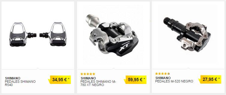 pedales shimano precios