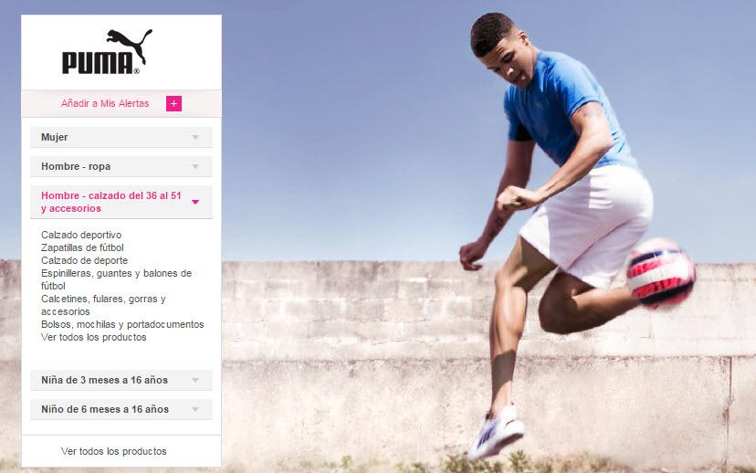 ventas privadas zapatillas de deporte