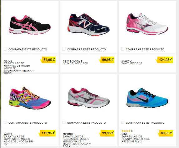 zapatillas asics decathlon
