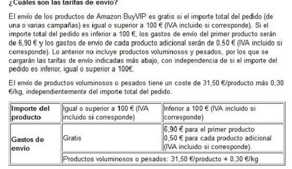 Amazonbuyvip envíos y devoluciones