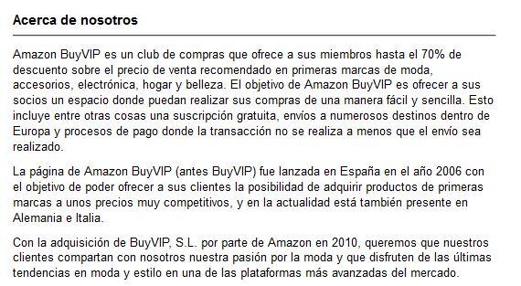 Amazonbuyvip opiniones