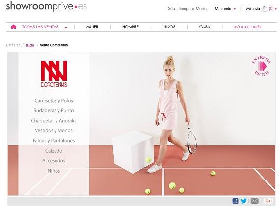 Showroomprive marcas de ropa deportiva