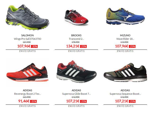 marcas de zapatillas deportivas