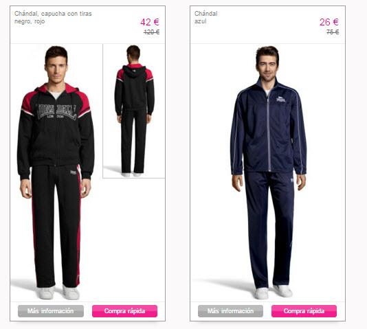 vente privee ropa deportiva 2016