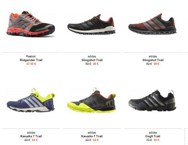 zapatillas trail baratas