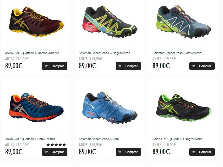 zapatillas adidas trail baratas