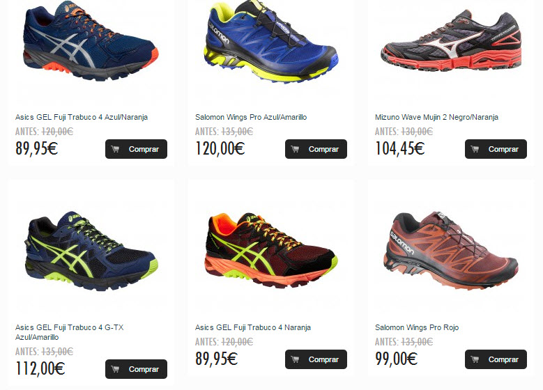 zapatillas trail pronador