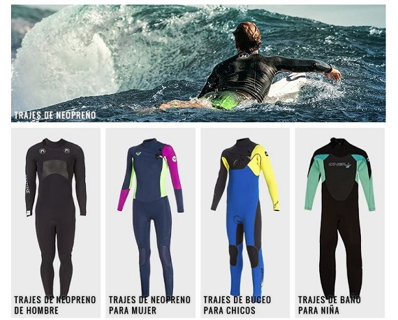 Ropa surf online