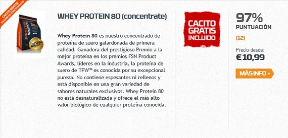 the protein works batidos de proteínas