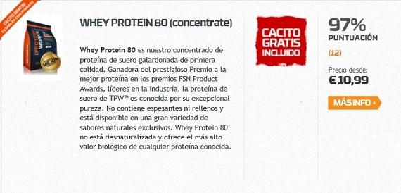 the protein works batidos de proteínas