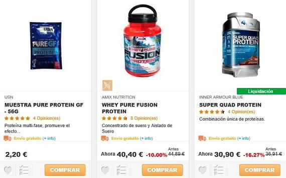 hsn store proteínas