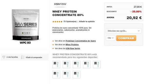 hsn store whey protein