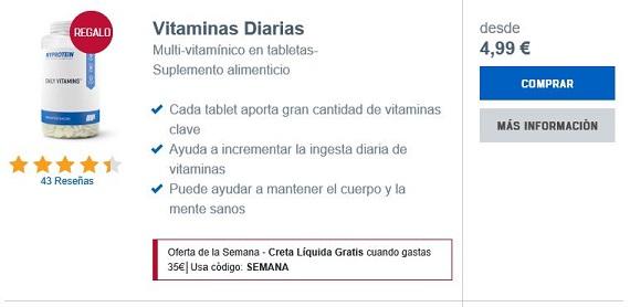 myprotein vitaminas