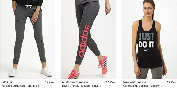 zalando ropa deportiva marcas