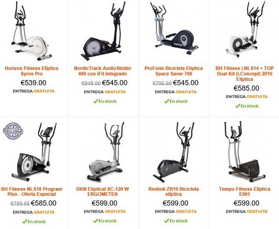 bicicletas elípticas precios