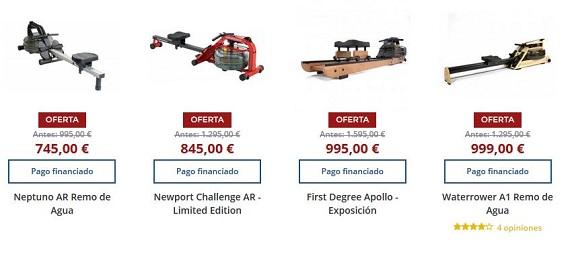 maquinas de remo precios