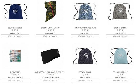 Buff tienda online