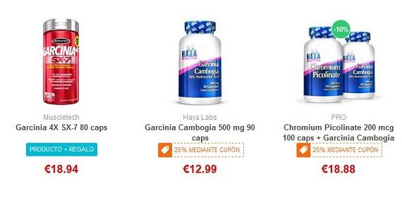 garcinia cambogia precios