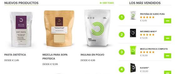 bulk powders España