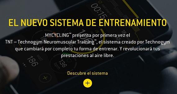 technogym mycycling