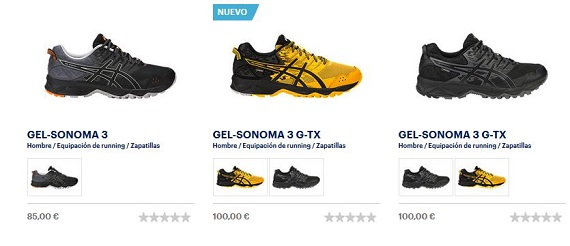 asics trail running