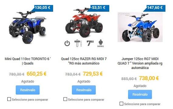 quads para adultos baratos