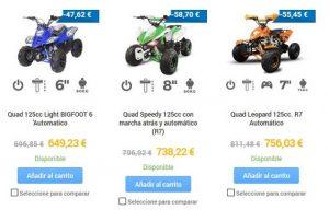 quads para adultos online