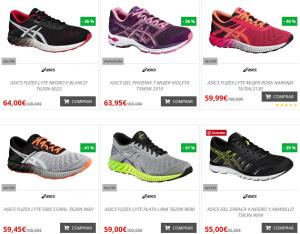 zapatillas running ofertas y outlet