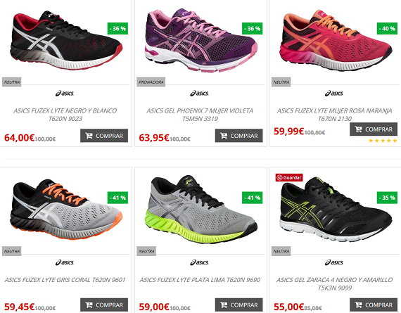 zapatillas running ofertas y outlet
