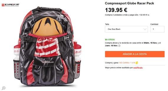 mochilas con bidones