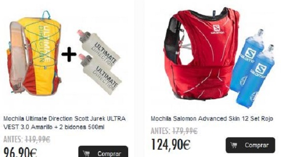 mochilas triatlon