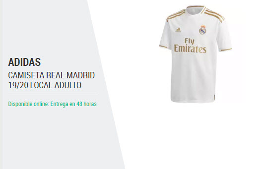 Replica Equipacion Real Madrid