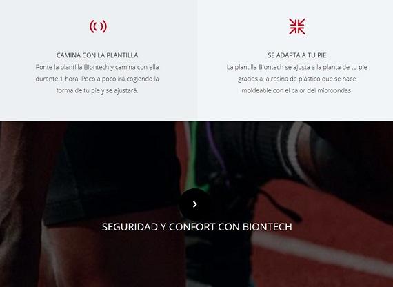 biontech plantillas deportivas